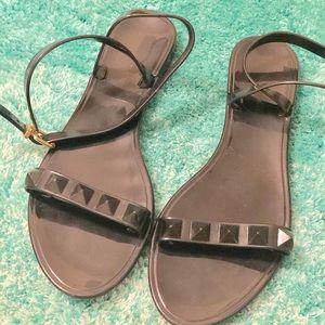 Black Sandals -Jellies
